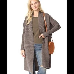 Madewell Fulton sweater  open cardigan